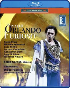 Diego Fasolis, I Barocchisti - Vivaldi: Orlando furioso (2018) [BDRip]