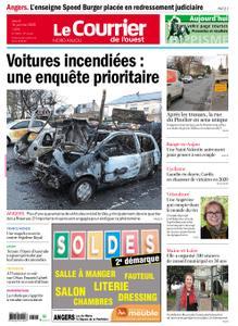 Le Courrier de l'Ouest Nord Anjou – 16 janvier 2020