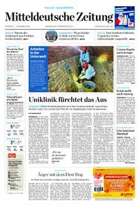 Mitteldeutsche Zeitung Mansfelder Zeitung Eisleben – 01. Dezember 2020
