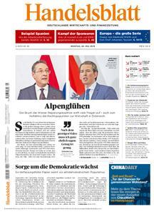 Handelsblatt - 20. Mai 2019