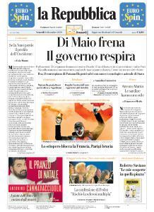 la Repubblica - 6 Dicembre 2019