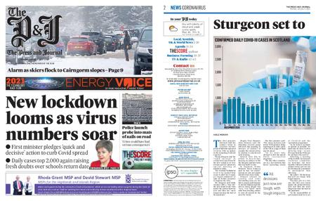 The Press and Journal Moray – January 04, 2021