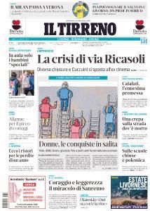 Il Tirreno Livorno - 8 Marzo 2021