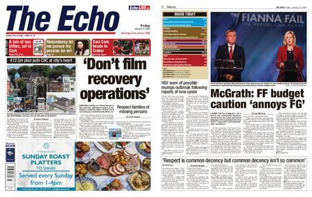 Evening Echo – January 17, 2020