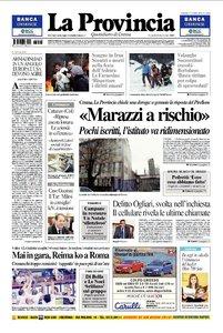 LA PROVINCIA DI CREMONA 28 DICEMBRE 2009