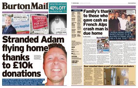 Burton Mail – August 25, 2020