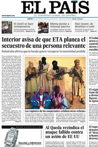 El País. 29 Diciembre