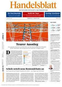 Handelsblatt - 21. August 2018