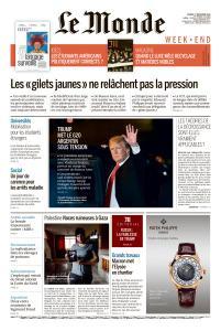 Le Monde du Samedi 1er Décembre 2018