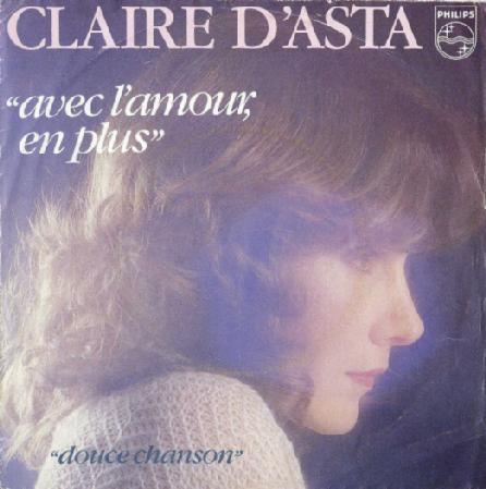 Claire d'Asta - L'amour en plus (1982)