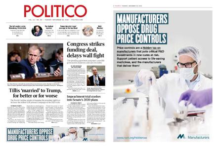 Politico – November 19, 2019