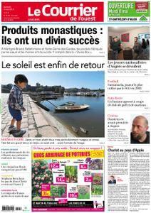 Le Courrier de l'Ouest Angers - 05 mai 2018
