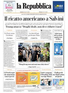 la Repubblica – 19 giugno 2019