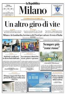 la Repubblica Milano - 7 Marzo 2020