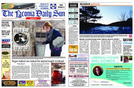 The Laconia Daily Sun – March 23, 2019