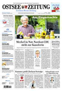 Ostsee Zeitung Wolgast - 27. September 2018