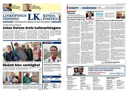 Linköpings Tidning & Kinda-Posten – 07 maj 2018