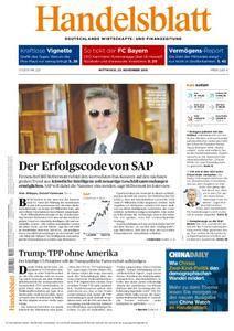Handelsblatt - 23. November 2016