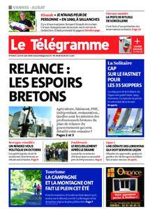 Le Télégramme Auray – 31 août 2020