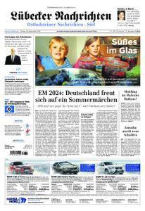 Lübecker Nachrichten Ostholstein Süd - 28. September 2018