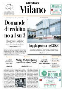 la Repubblica Milano - 12 Agosto 2019