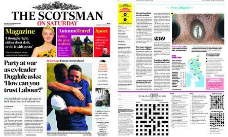 The Scotsman – September 29, 2018