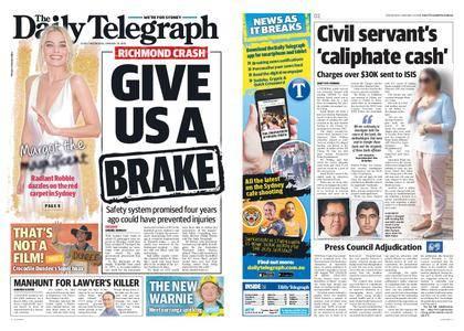 The Daily Telegraph (Sydney) – January 24, 2018