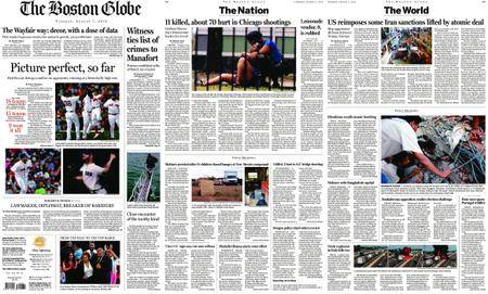 The Boston Globe – August 07, 2018