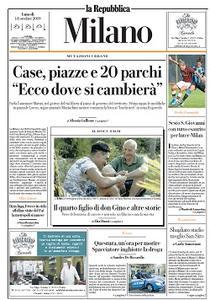 la Repubblica Milano - 14 Ottobre 2019