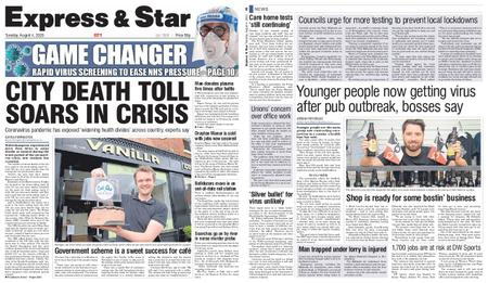 Express and Star City Edition – August 04, 2020