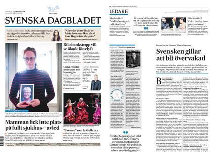 Svenska Dagbladet – 21 januari 2019