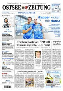 Ostsee Zeitung Wolgast - 25. August 2018