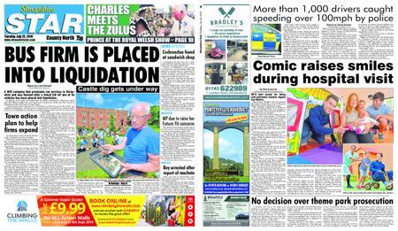 Shropshire Star North County Edition – July 23, 2019