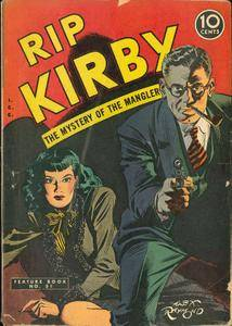 Feature Book 51 [David McKay] 1948 Rip Kirby c2c