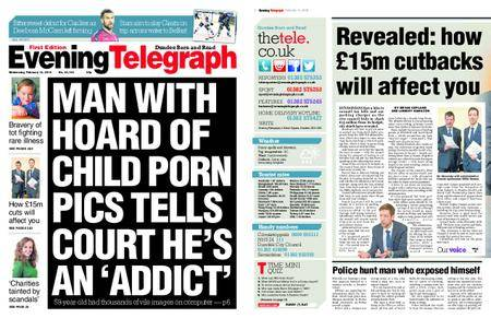 Evening Telegraph First Edition – February 14, 2018