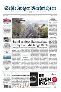 Schleswiger Nachrichten - 07. November 2019