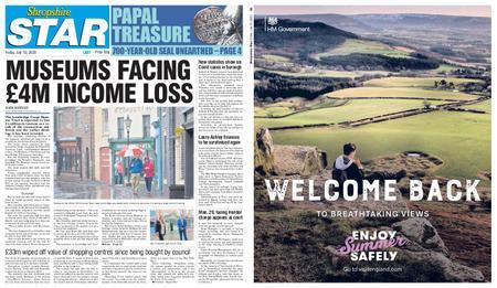 Shropshire Star Last Telford Edition – July 10, 2020