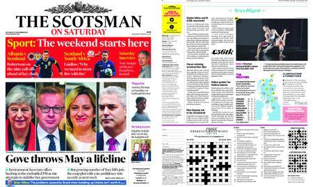 The Scotsman – November 17, 2018