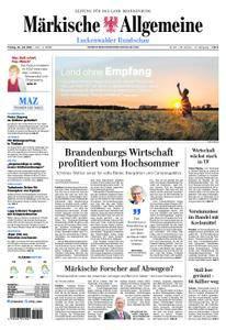 Märkische Allgemeine Luckenwalder Rundschau - 20. Juli 2018