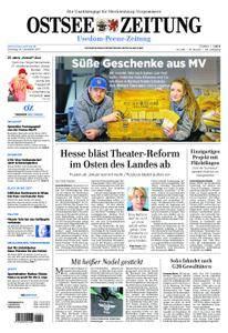 Ostsee Zeitung Wolgast - 19. Dezember 2017