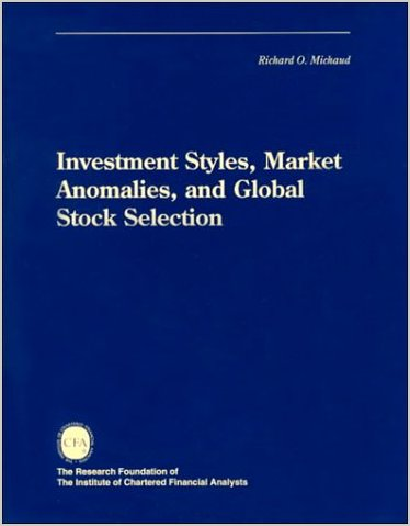 Investment Styles, Market Anomalies and Global Stock Selection
