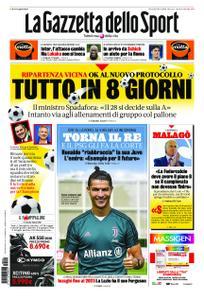 La Gazzetta dello Sport Roma – 20 maggio 2020