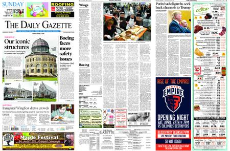 The Daily Gazette – April 21, 2019