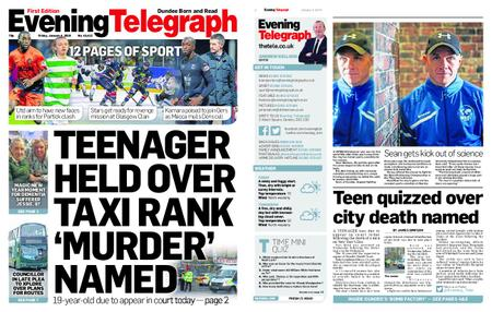 Evening Telegraph First Edition – January 04, 2019