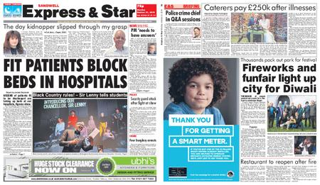 Express and Star Sandwell Edition – October 21, 2019