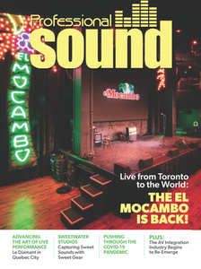 Professional Sound - June 2020