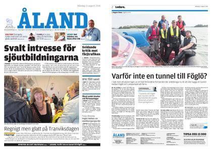 Ålandstidningen – 13 augusti 2018
