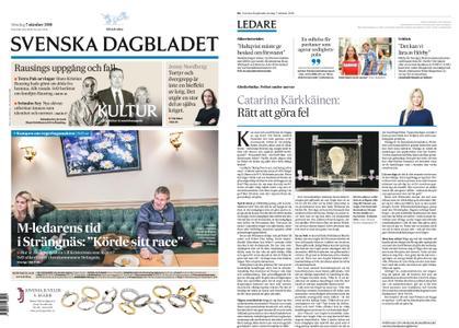Svenska Dagbladet – 07 oktober 2018