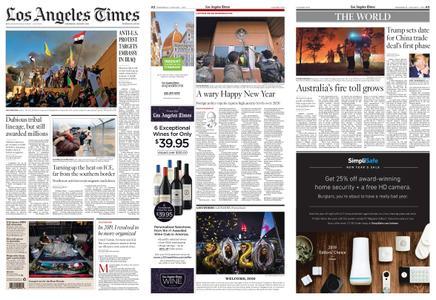 Los Angeles Times – January 01, 2020