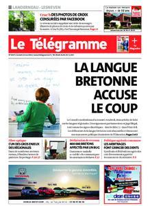 Le Télégramme Landerneau - Lesneven – 22 mai 2021